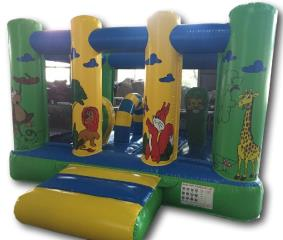 10ft x 10ft Jungle Mini Bouncer