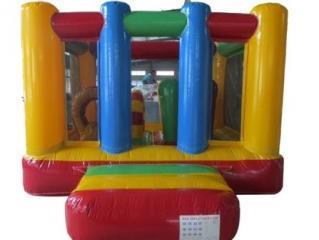 10ft x 10ft Rainbow Mini Bouncer
