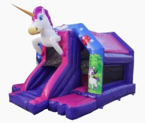 18ft x 14ft Unicorn Slide Bouncer