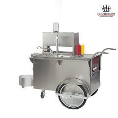 Hot Dog Cart & Server ( 4 hours)