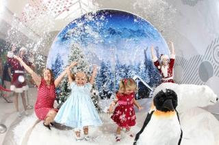 Inflatable Christmas Human Snow Globe