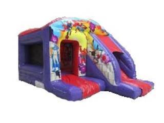 Super Hero Slide Bouncer