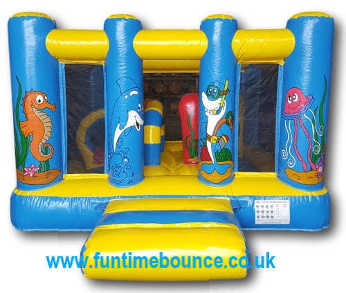 10ft x 10ft Ocean Mini Bouncer