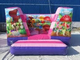 15ft x 12ft Fairy Lo Wall Bouncy Castle